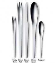 """cutlery used in """"2001 Space Odissey"""" by Stanley KUBRICK"""