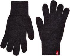 Levi's Ben Touch Screen Gloves Gants Noir (Regular Black L Homme Levis, Unisex, Touch, Shopping, Black, Fabricant, Amazon Fr, Fashion, Charcoal Color