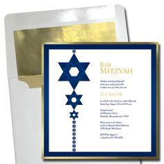All Bar Mitzvah & Bat Mitzvah Invitations