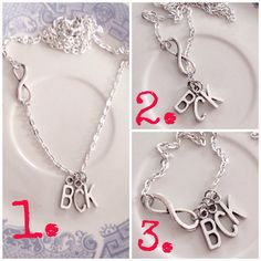Silver+Unity+Necklace+with+Initials+love+by+AnnabellandLouise,+$13.00