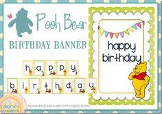 Free Winnie the Pooh Banner