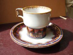 Denmark B & G Bing Grondahl Stoneware 305 Copenhagen Porcelain Cup & Saucer