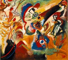 kandinsky | There is no must in art because art is free. | Artist Quote of the Day