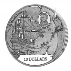 British Virgin Islands 2015 - 475th Anniversary of the Birth of Sir Francis Drake - Sterling Silver