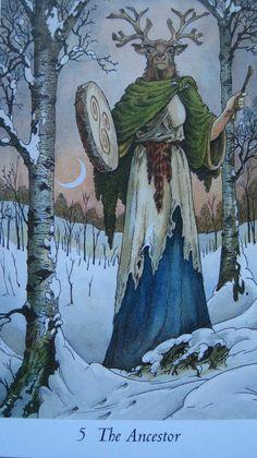 The Ancestor - Imbolc,  Wildwood Tarot