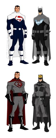 Justice Lords Superman/Batman and Red Son Superman/Batman