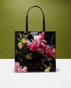 542fd764b Ted Baker London  Large Carmel - Magnolia Stripe  Tote. Enemmän. Citrus  Bloom shopper bag - Black