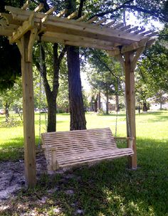 Arbor/pergola swing -- looks just like the one from the vision God showed me at he Women's Retreat -- when we met Jesus in His garden & sat with Him in His favorite place...I've never even seen one of these before :)