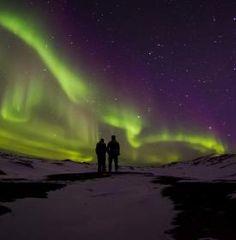 #NorthernLights in #Greenland #AuroraBorealis #Bucketlist https://www.theaurorazone.com/destinations/northern-lights-holidays-to-greenland
