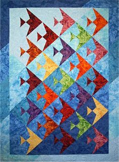 Up A Lazy River Quilt Pattern - The Virginia Quilter
