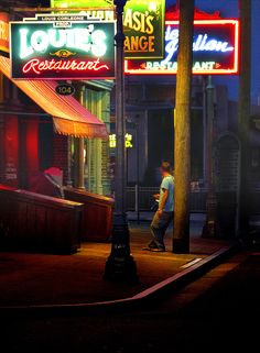 Man Under the Neon by Robert Schwartzman - Photo 105038963 - 500px
