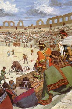 Au temps des royaumes barbares 14 - Ancien Amphithéâtre de Metz - Pierre Joubert