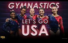 USA gymnastics The FINAL Five