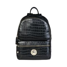 Versace Jeans Genuine Womens Rucksack Backpack Leather Black for sale online Versace Jeans Bags, Fashion Bags, Fashion Backpack, Commuter Bag, Rucksack Backpack, Dust Bag, Black Leather, Backpacks, Zip