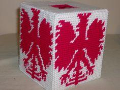 Polish Eagle Tissue Box Cover by NannysTreasures on Etsy