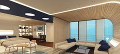 Swiss Ocean, Seahawk, Zurich, 2014 | MACH ARCHITEKTUR GMBH: Yacht Suite Interior Design Zurich, Hospitality, Architects, Buildings, Ocean, Design, Home Decor, Architecture Interior Design, Decoration Home