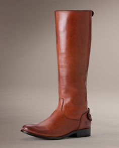 Got these boots in the mail! Impulse buy? Only kinda. Melissa Button Back Zip | The Frye Company