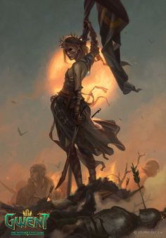 View an image titled 'Aelirenn Art' in our Gwent: The Witcher Card Game art gallery featuring official character designs, concept art, and promo pictures. The Witcher, Witcher Art, Fantasy Inspiration, Character Inspiration, Character Art, Character Design, The Elder Scrolls, Medieval Fantasy, Dark Fantasy