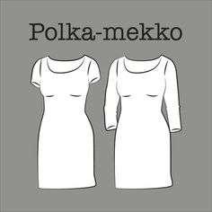 Kangaskapina Sewing Clothes, Diy Clothes, Sewing Tutorials, Sewing Patterns, Dresses For Work, Formal Dresses, Dress Skirt, Knitting, Skirts