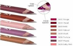 Flat Lipstick & Lipliner Pencil - 3604 Natural Lip - 2.67g .094oz by Lord & Berry. $9.99. The Flat Pencil MUST be sharpened with the Flat Pencil sharpener, which effortlessly rotates the pencil to a precision point for perfect application.. Use thick as a lipstick. Use thin for precise lining.. The design offers both functions of shading and lining (thick and thin), all in one unique pencil.. Lord & Berry Flat Pencil is a revolutionary new make-up pencil.. Lord & ...