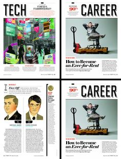 Fortune Magazine  Loving the section headers  #editorial #design #magazine