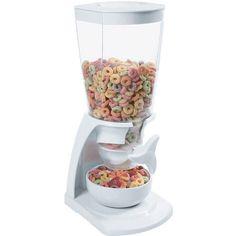 Dispenser Simples com Porta Cereais Branco - Soprano