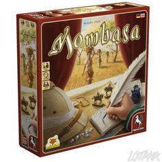 Gezelschapsspel Mombasa (Pegasus Spiele) - International Gamers Award 2016 (Multi Player)