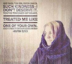 One of Your Own Ruth 2:13
