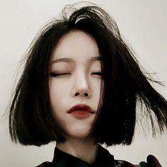 Kstyle hair bob @jacintachiang                                                                                                                                                      More