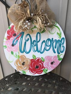 Sweet Spring Door Hanger