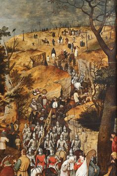 Procession to calvary - Pieter Brueghel the Younger
