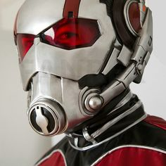 2015 Movie Ant-Man Helmet PVC Antman Cosplay Full Head Mask Halloween for Adult