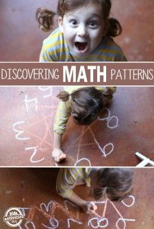Skip counting game and worksheet to help kids find patterns #math