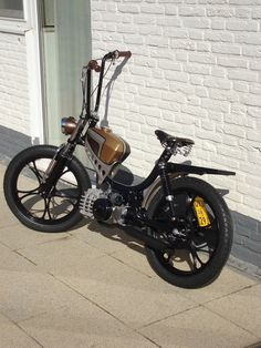 Moped bobber Puch pinto