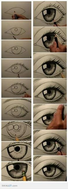 How to draw eyes... wish me luck- it might not be pretty...