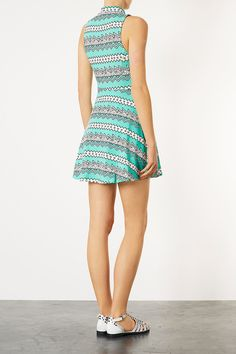 Summer Outfits For Under $100: ZigZag Aztec Dress by TopShop