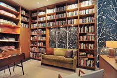 Floor To Ceiling Bookcase Design Ideas, Pictures, Remodel and Decor