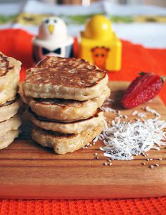 Chia Coconut Pikelets {toddler-friendly & vegan}