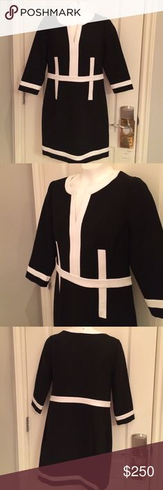 👗 DVF FABULOUS Black & White Petra ✨ MAKE OFFER Lovely US 8 Black & White Dress Stylish and fantastic addition to your wardrobe~Authenticity Tag inside dress Ready to ship to a new home 🔆 Diane von Furstenberg Dresses Midi