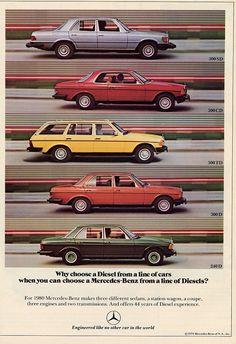 1980 Mercedes-Benz Diesels - Productioncars.com