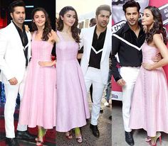 3 pictures of Varun Dhawan and Alia Bhatt from the sets of The Voice India which speak a lot about their camaraderie – view HQ… #FansnStars
