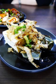 柴魚皮蛋豆腐 @程班長台灣美食