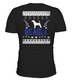 Shirt Merry Christmas BEAGLE back 1 Pocket Beagle, Charity, Merry Christmas, One Piece, Mens Tops, T Shirt, Stuff To Buy, Printable, Simple