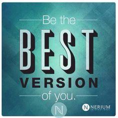 Se la mejor versión de ti! Just Do It!