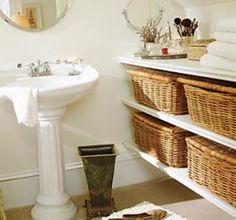 Decoração Rústica para Banheiros