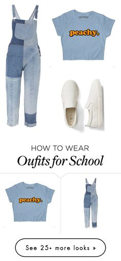"""""""old school. new school. denim on denim"""" by osokitan on Polyvore featuring RE/DONE and Gap"""