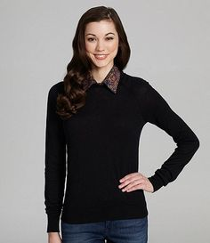 Collar is Professional? Bcbgeneration, Dillards, Dress To Impress, Tunic Tops, Blouse, Long Sleeve, Sleeves, Sweaters, Dresses