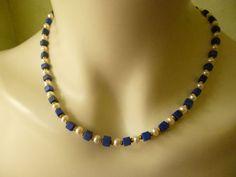 Lapis Lazuli - walk-of-jewels Edelsteinketten Unikate Voilà-Schmuck München