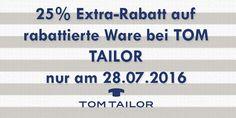 25% Gutschein für die Nachtschwärmer bei TOM TAILOR #rabatt #gutscheinlike #tomtailor #gutschein #nachtschwärmer