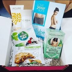 Love that Bump Boxes are filled with nourishing products and gifts for both beauty and snacking!
